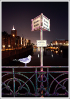 Postkarte Brooksbrücke