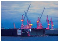 Postkarte Dock 11