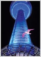 Postkarte Fernsehturm