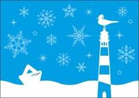 Postkarte Winter