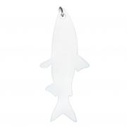 Großer Fisch - Weiß